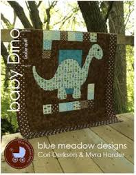 Everyday Handmade: 22 Practical Projects for the Modern Sewist ... & Baby Dino Quilt - What a cute quilt! Not that I can quilt. But hey, the  dino's body is the same fabric as my Beco carrier! Adamdwight.com