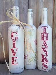 Decorative Wine Bottles Ideas WINE BOTTLE UPCYCES FOR THE FALL they are awesome 97