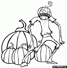 Small Picture Online Halloween Coloring Pages Awesome Free Printable Haunted