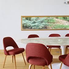 Knoll  Saarinen Executive Armless Chair ...