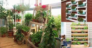 creative vertical balcony garden ideas