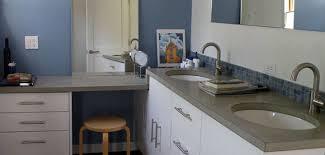 concrete countertops with white cabinets white concrete countertop mix