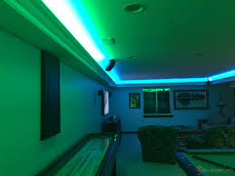 game room lighting. Man Cave Game Room LED Lighting Contemporary-family-room U