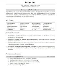Customer Service Skills For Resume Free Resume Example And