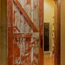 rustic interior barn doors. Distressed Sliding Barn Door Rustic Interior Doors