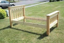 simple bed frame ideas simple bed twin simple twin bed frame diy