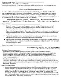 Manager Telecommunications Resume Manager Telecommunications
