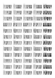 Piano Code Chart 72 Methodical Piano Chord Chart Sheet