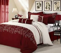 cranberry comforter set bed linen glamorous colored goose down 4