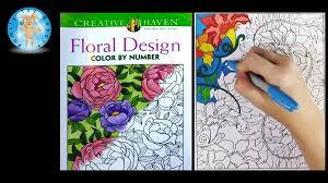 creative haven fl design color by number coloring book sd color family toy report you
