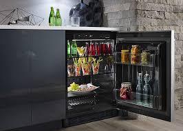photo of beverage center in master suite