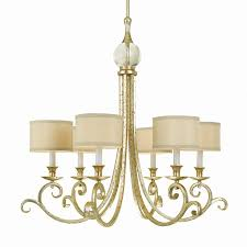 candice olson by af lighting lucy 30 in 6 light soft gold country cottage