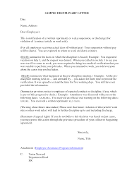 Best Photos Of Disciplinary Action Letter Template