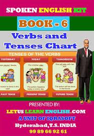 Spoken English Kit Book 6 Verbs And Tenses Chart