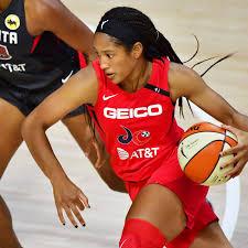 WNBA: Stella Johnson helped Mystics defeat Dream in first career start -  Swish Appeal