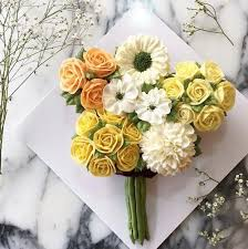 Yellow Flower Cupcake Bouquet Free Dubai Delivery Buy Now