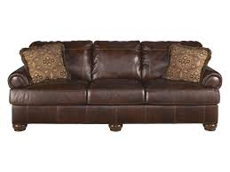 leather and wood sofa. Bannister Leather Sofa And Wood D