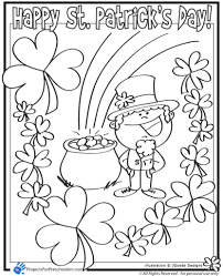 Small Picture St Patricks Day Coloring Pages Kindergarten Archives And Free St