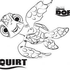 Finding Nemo Characters Coloring Pages New 19 Free Finding Dory