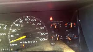 1997 Chevy Tahoe Fuel Gauge Problem - YouTube