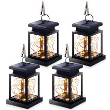 Hanging Lantern Lights String Hanging Solar Lights Outdoor Hanging Lanterns Lights Solar Fairy String Lights Outdoor Dusk To Dawn Auto On Off For Garden Patio Yard Warm White