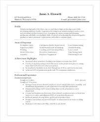 Manufacturing Engineer Resume Fresh Resume Objective Examples
