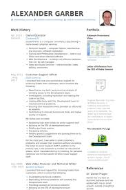 Libreoffice Resume Template Owner Operator Resume Samples Visualcv Resume  Samples Database Printable