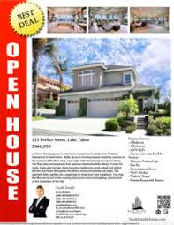 realtor open house flyers turnkey flyers top producer package 53 designs one agent