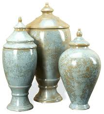 Decorative Urns With Lids