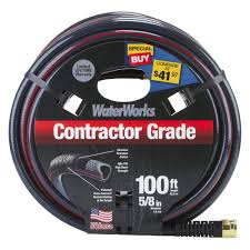 waterworks 5 8 in dia x 100 ft commercial duty garden hose