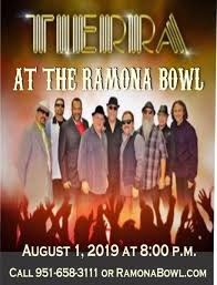 Tierra Concert Ramona Bowl Amphitheatre