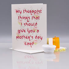 Therapist Mothers Day Card