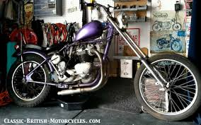 triumph choppers
