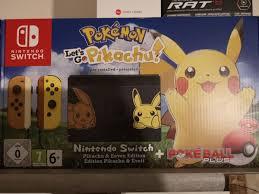 Nintendo Switch Pokemon Let's GO Pikachu Edit in 8605 Kapfenberg für €  450,00 zum Verkauf
