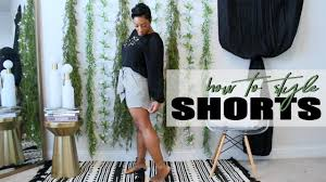 How to Style <b>Shorts Women</b> Over 30 | Spring <b>Summer 2019</b> - YouTube