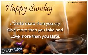 Happy Sunday Good Morning Quotes Best Of Latest English Inspirational Happy Sunday Good Morning Sayings