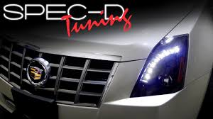 SPECDTUNING INSTALLATION VIDEO: 2008 - 2013 CADILLAC CTS PROJECTOR ...