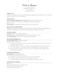 work experience resume template. resume template limited work experience dynabooinfo