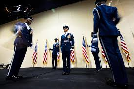 u s department of defense photo essay  an air force honor guard drill team perform during the 40th tuskegee airmen national convention gaylord