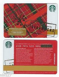 2016 starbucks holly canada reloadable gift card