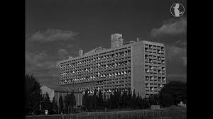 Inauguration De La Cité Radieuse De Le Corbusier à Marseille