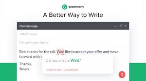 grammarly for chrome chrome web store