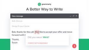 grammarly for chrome chrome web store