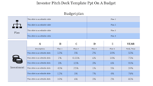 Stratergy Investor Pitch Deck Template Ppt