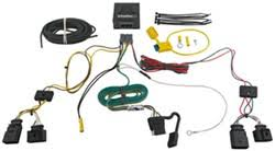 is splicing and a battery connection required to install trailer How To Splice Trailer Wiring Harness t one vehicle wiring harness with 4 pole flat trailer connector how to splice trailer wiring harness