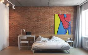Spiderman Bedroom Decorations Bedrooms With Exposed Brick Walls