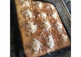 Recipe of Award-winning Basbousa (Semolina Cake) | All British Dessert  Recipes