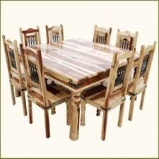 8 person dining table. Rustic Square Dining Table And Chair Set Seat 8 Person I