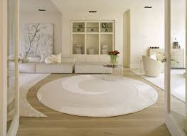 image of white round braided rugs