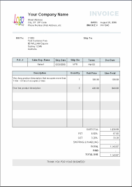 Samples Of Invoices Format Business Invoice Sample Invoice Template Ideas 1